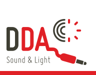DDA Sound & Light Logo